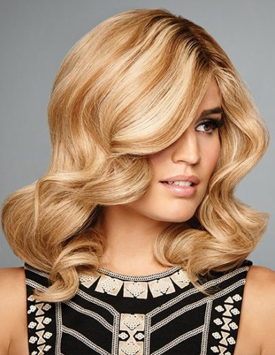 Bent Waves Dirty Blonde Hair Raquel Couture