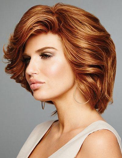 Mousse Bronze Waves Woman Hair Raquel Couture