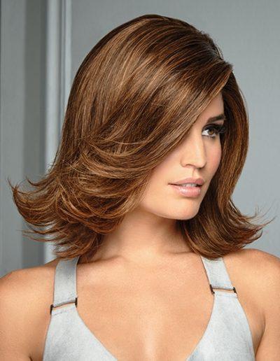 Wave Brown Shoulders Woman Hair Raquel Couture