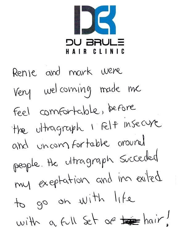 Ultragraft Testimonial 05